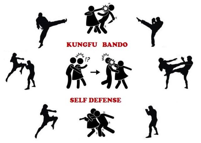 Image stage self défense